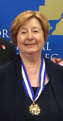 Madame Francine Lelièvre, élevée au rang d'officière de l'Ordre national du Québec