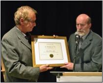 M. Jean-Marie Lebel reçoit le prix des Dix