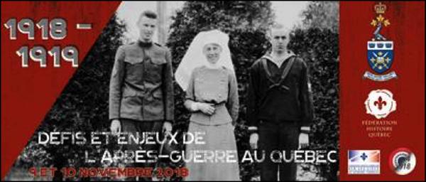 1918-1919 : Défis et enjeux de l'après-guerre au Québec