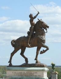 Monument de Jeanne d'Arc, Blois 1921