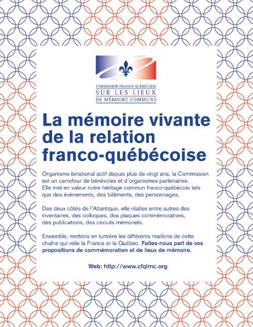 La mémoire vivante de la relation franco-québécoise