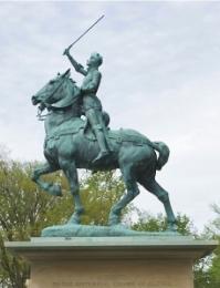 Monument de Jeanne d'Arc, Québec 1938