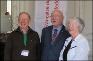 De g. à d.: M. Roger Barrette, M. Marc Beaudoin et Mme Mariette Plante.