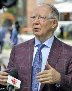 M. Roger Barrette en entrevue à Radio-Canada.