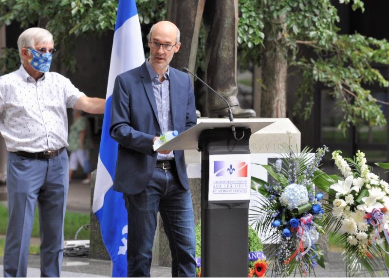 M. Guillaume Pinson, doyen de la faculté des Lettres et des Sciences humaines, Université Laval.