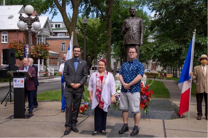 Rendez-vous d'histoire de Québec, M. Alex Tremblay-Lamarche, Mme Catherine Ferland, présidente, M. Dave Corriveau.