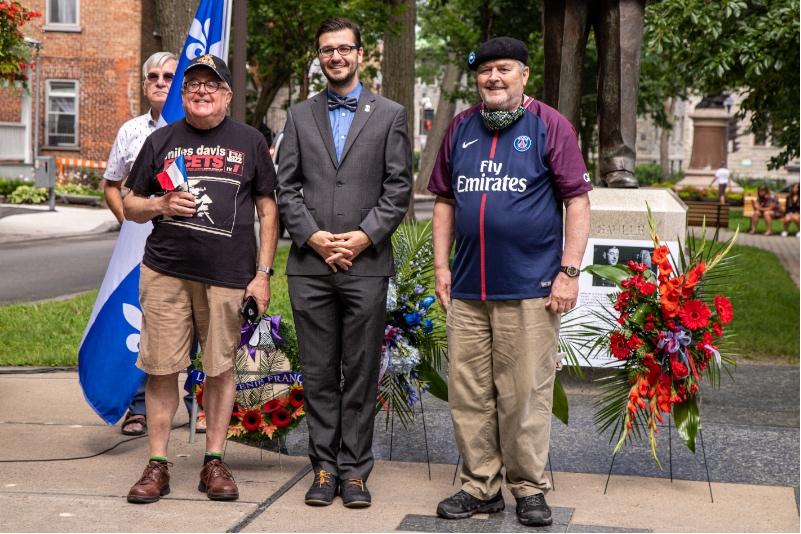 Société historique de Québec, M. Raymond Bilodeau, M. Alex Tremblay-Lamarche, M. Gérald Gobeil.