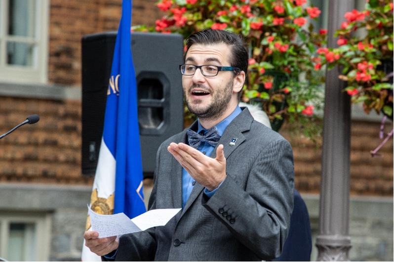 Société historique de Québec : M. Alex Tremblay-Lamarche, président.