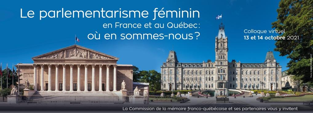Le parlementarisme féminin en France et au Québec où en sommes-nous ?