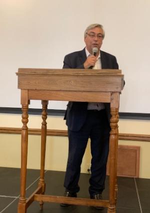 15 août 2019 : Discours du président de la Commission M. Denis Racine lors de l'ouverture des Rendez-vous d'histoire de Québec.